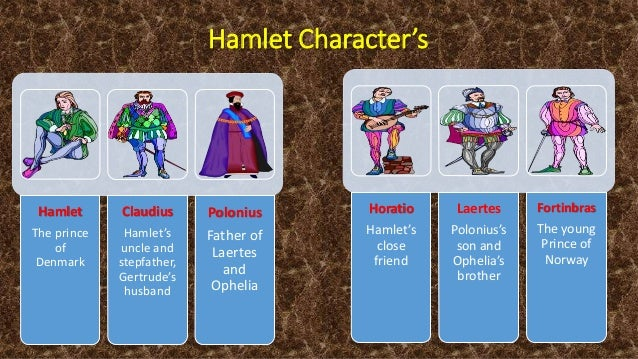 the relationship of the characters of hamlet and his mother Old hamlet's ghost reappears in act three of the play when hamlet goes too far in berating his mother  hamlet characters  hamlet's relationship with his dead .