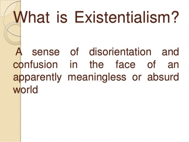 existentialism as a philosophy that emphasizes uniqueness freedom and choice