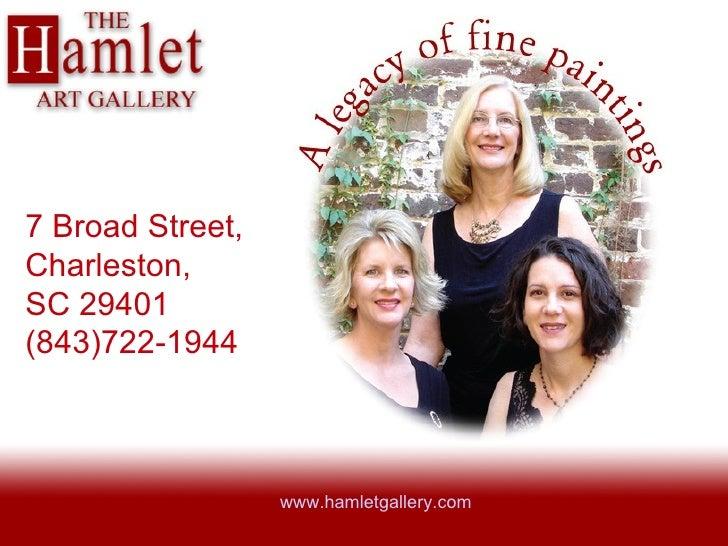 Hamlet Gallery in Charleston, SC