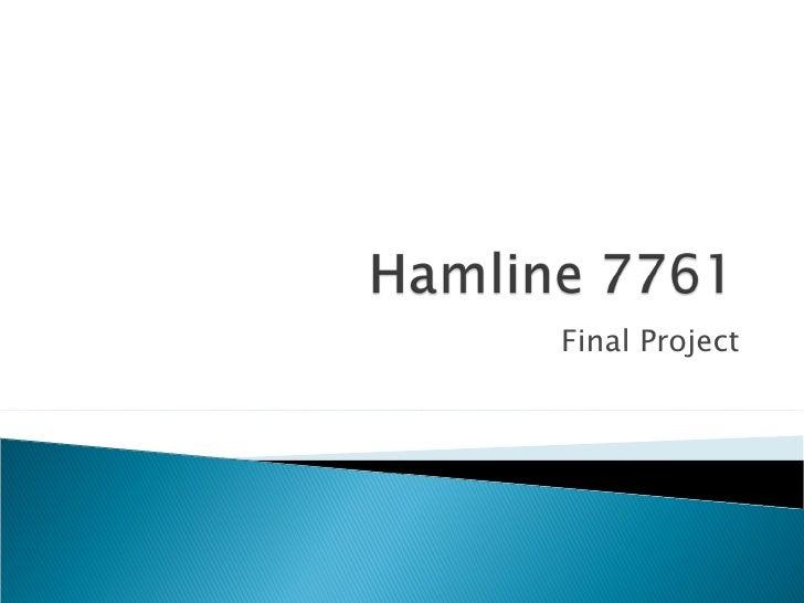 Hamline 7761