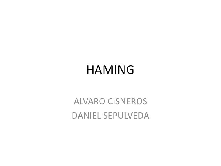 Hamming 2012