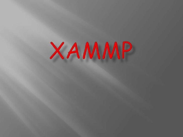 xAMMP<br />