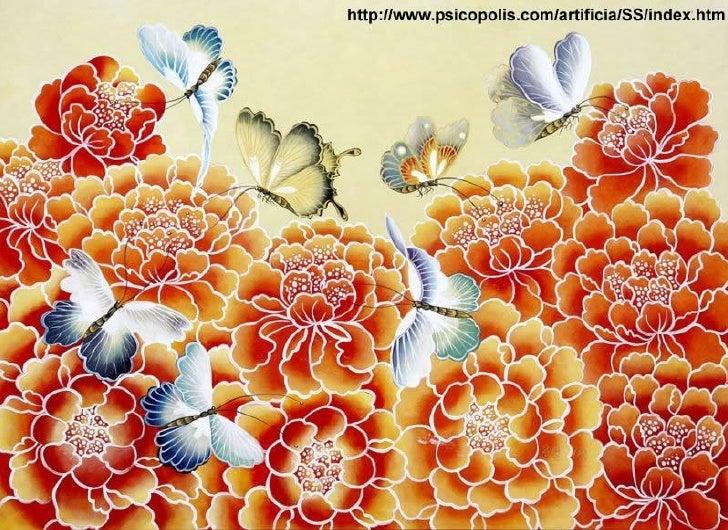 Farfalle nell'arte cinese