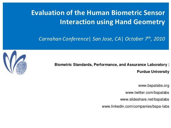 (2010) HBSI and Hand Geometry