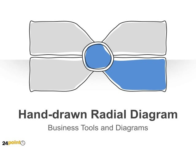 Hand-drawn Radial Diagram - PowerPoint Illustration