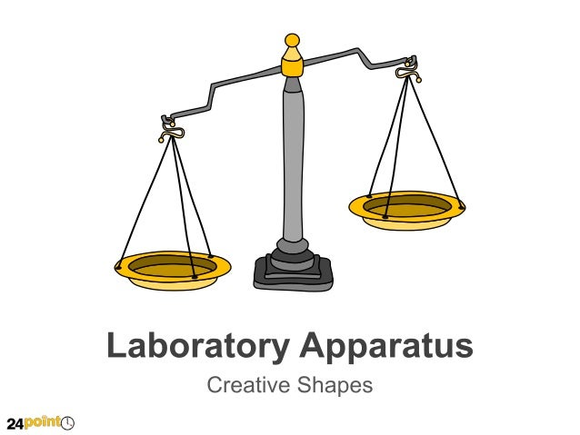 Hand-drawn Laboratory Apparatus PowerPoint Slides
