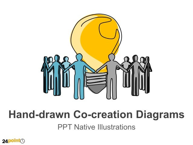 Hand-drawn Co-creation Diagrams  Insert text  Insert text  Insert text Insert text Insert text Insert text Insert text Ins...