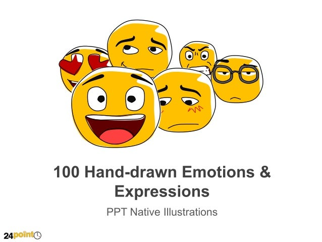 Hand Drawn Emotions & Expressions