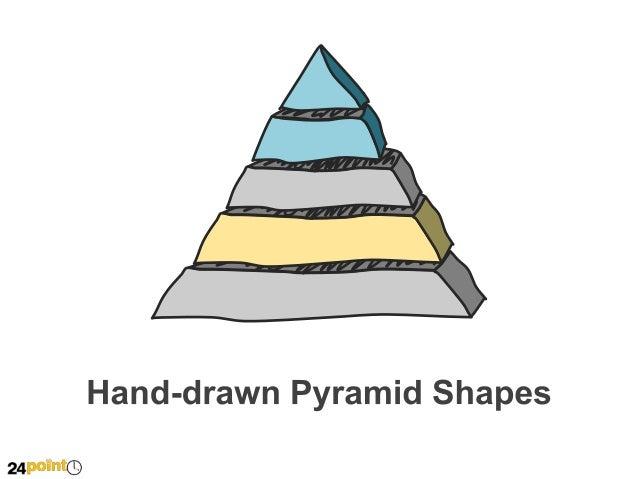 Hand Drawn Pyramid Shapes 2