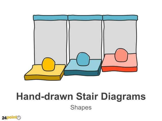 Hand-drawn Stair Diagrams Insert text  Insert text  2 1