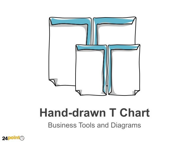 PowerPoint Hand-drawn T Chart
