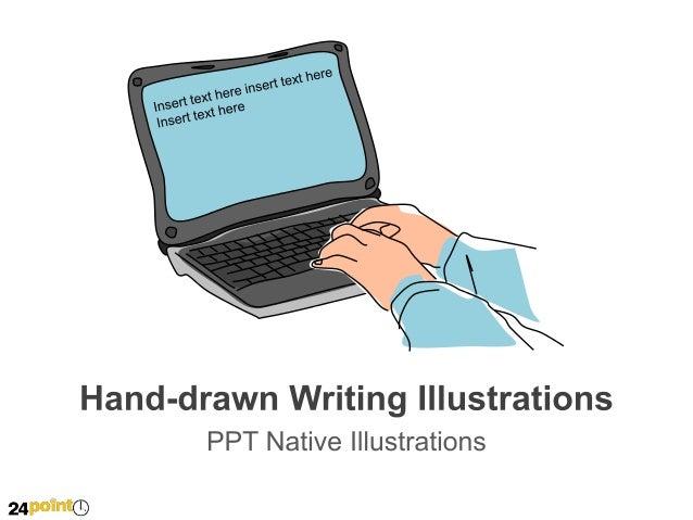 Hand Drawn Writing Illustrations