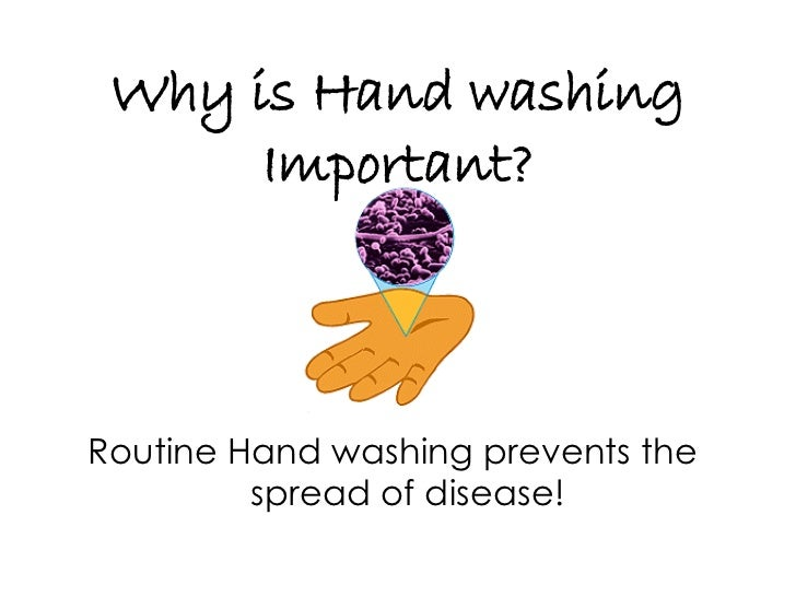 the importance of hand washing in infection prevention and control These steps are part of infection control proper hand washing is the most effective way to prevent the spread of infections in infection prevention and you.