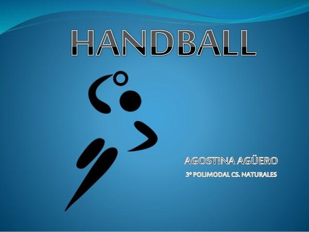 Han sido numerosos los juegos que han utilizado las manos a lo largo de la historia. No obstante, el handball moderno es r...