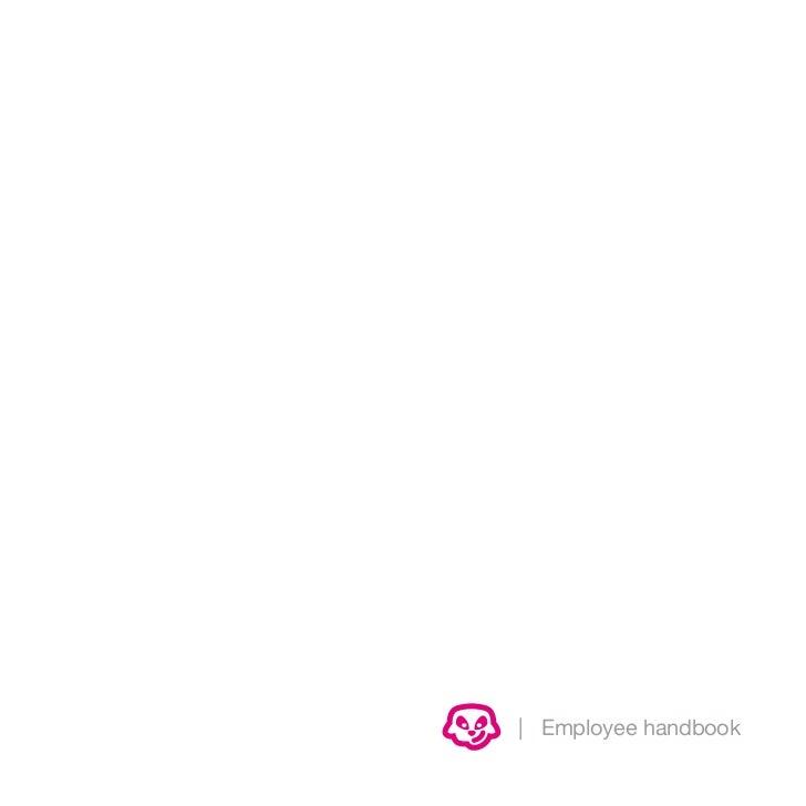 | Employee handbook