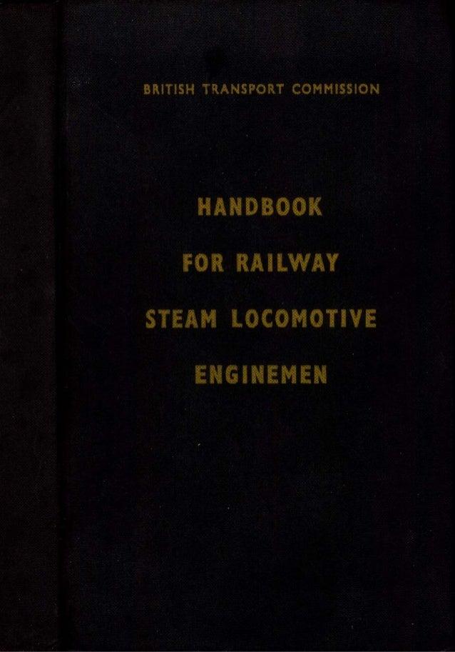 Handbook For Steam Locomotive Enginemen