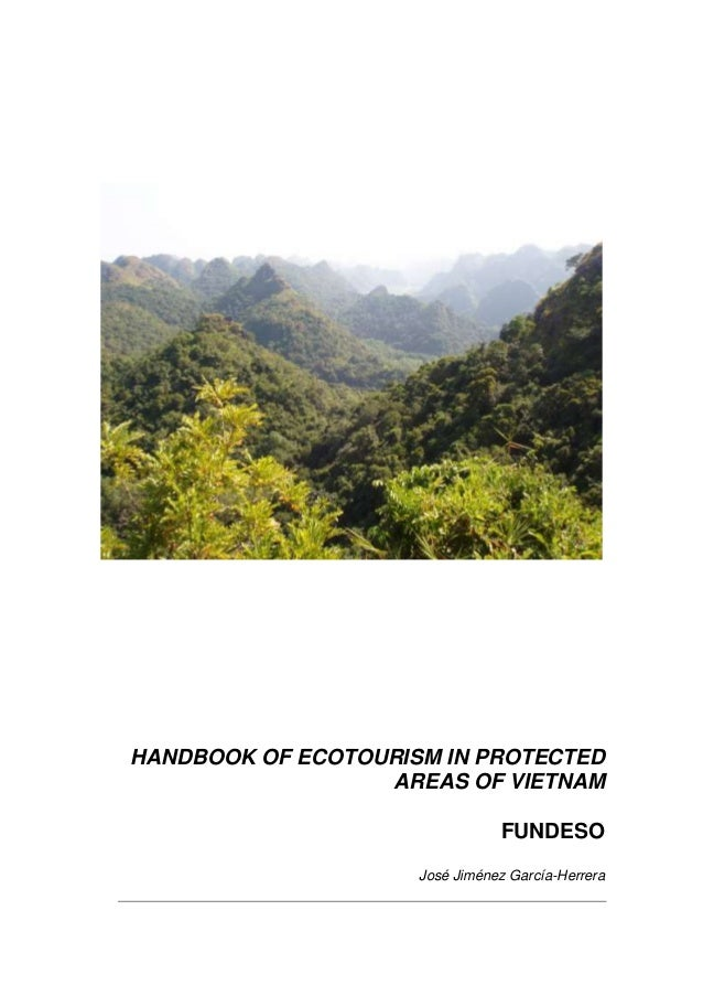 Handbook of Ecotourism in Protected Areas of Vietnam