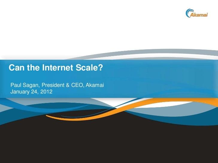 Handelsblatt. Akamai CEO keynote. 2012