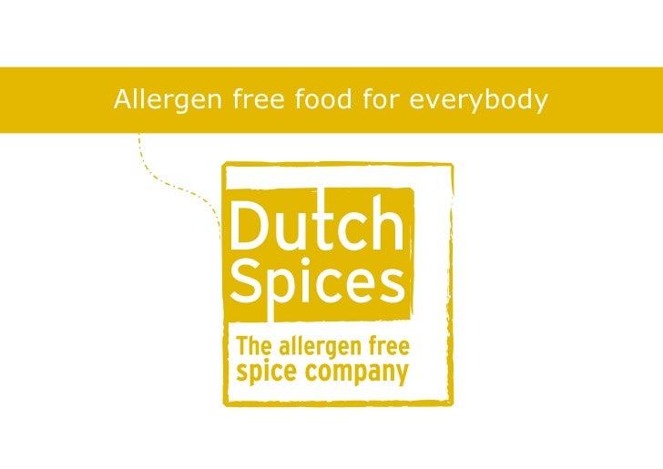 Handelspresentatie dutch spices engels