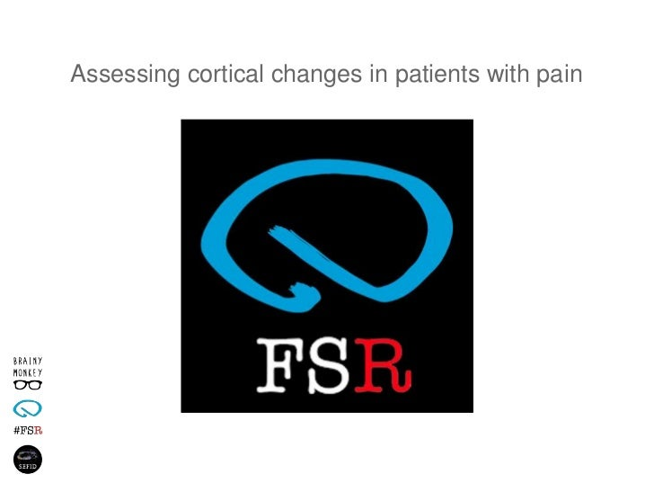 Assessing cortical changes in patients with pain