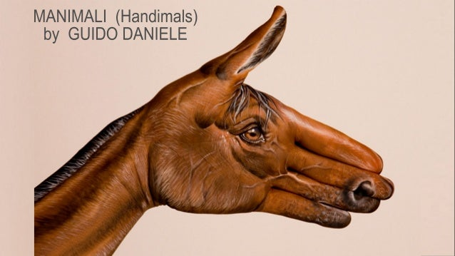 Handimals by Guido Daniele