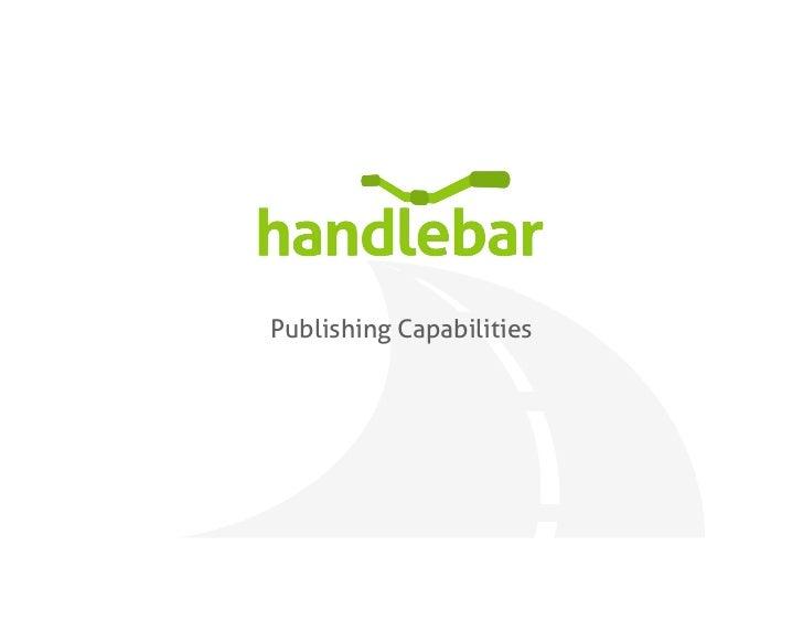 Publishing Capabilities