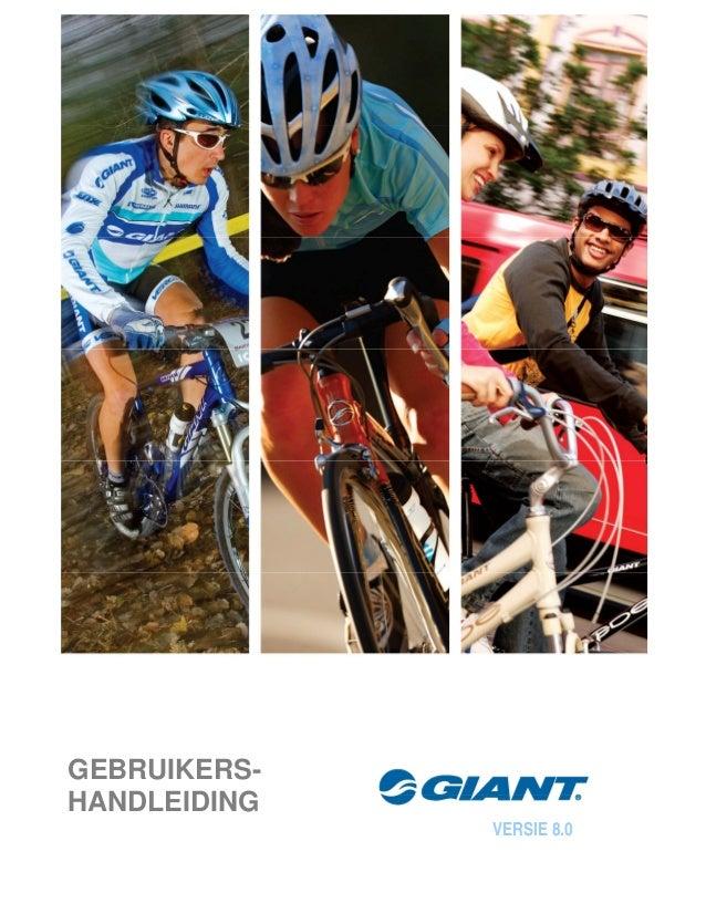 Gebruikershandleiding Giant algemeen via Internet Bikes