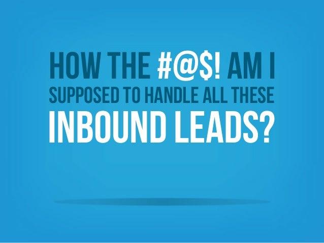 Handle Inbound Leads