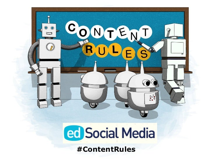 C.C. Chapman & Ann Handley's Content Rules presentation