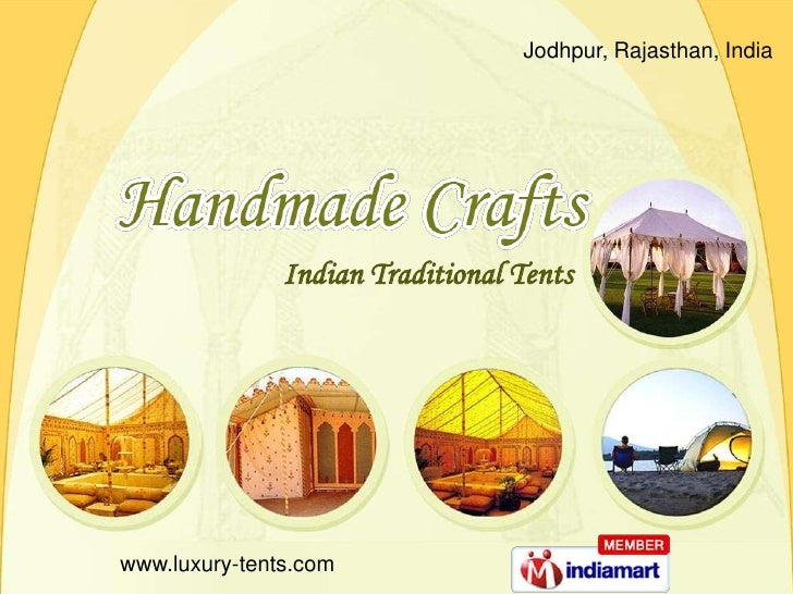 Jodhpur, Rajasthan, India<br />Indian Traditional Tents     <br />