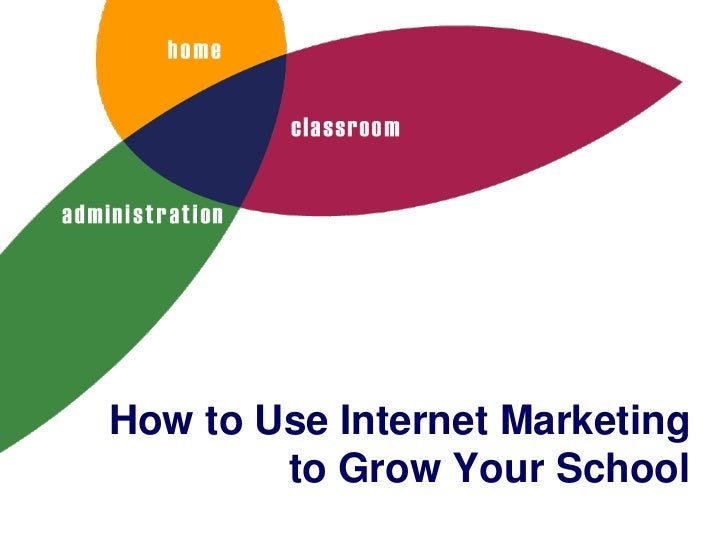 How to Use Internet Marketing        to Grow Your School