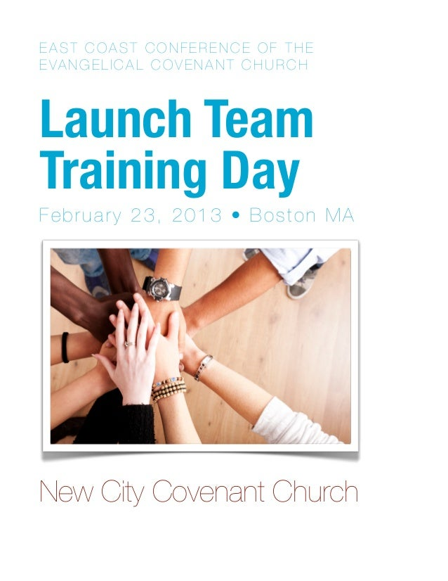 Launch Team Training Handout for New City Boston