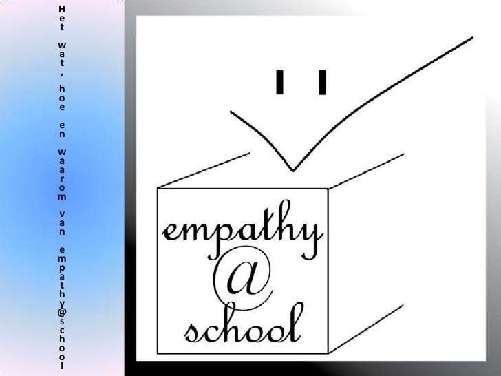 Handout empathy@school
