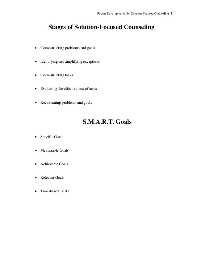 Solution Focused Worksheets - Pichaglobal