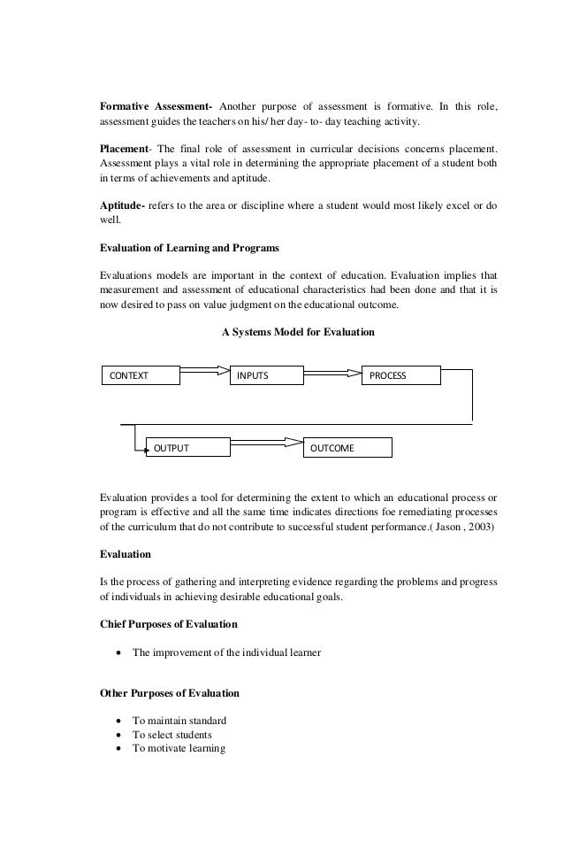 the functions of assessment in learning Classroom assessment techniques and their implementation in a mathematics class teaching by finding out what students are learning in the classroom and how well learning and adopt assessment methods and tasks appropriate to the desired learning.