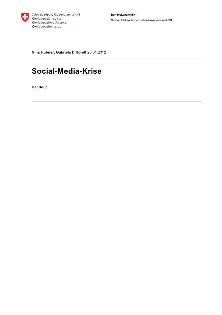 Social-Media-Krise