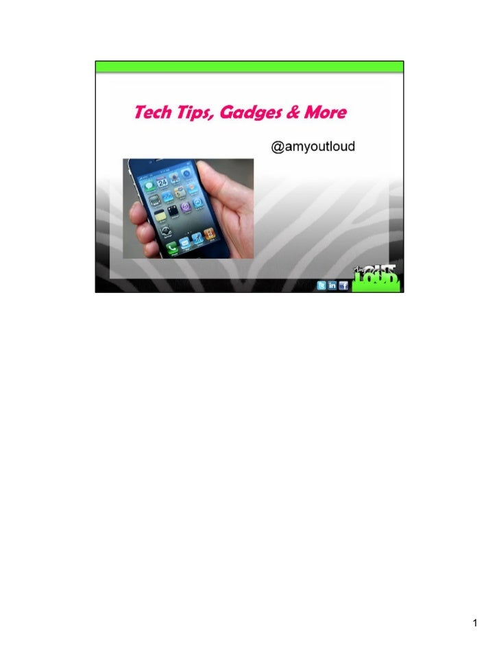 Handouts tech tips march 2012