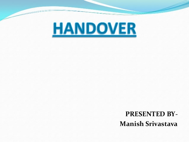 PRESENTED BY-Manish Srivastava