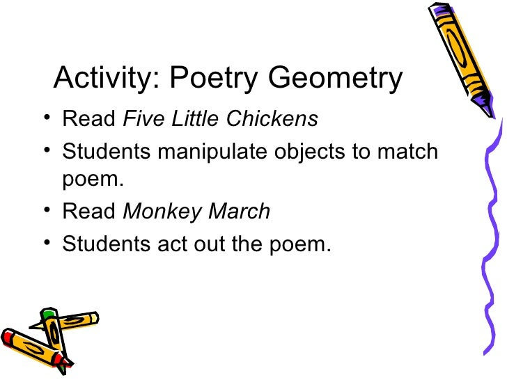 math worksheet : hands on geometry for k 2 learners : Math Poems For High School Geometry