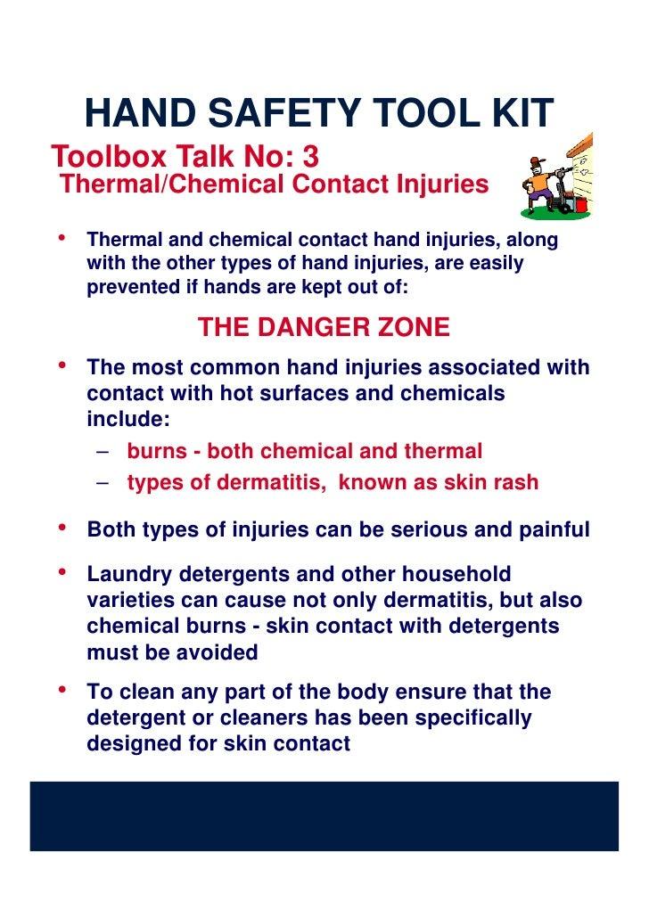 daily toolbox talk topics pdf