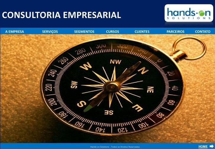 Hands On Solutions    Consultoria Em Gestao Empresarial