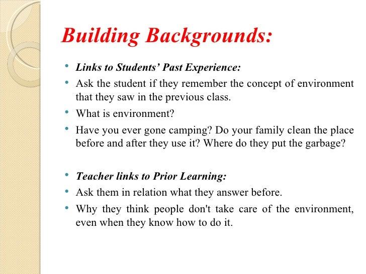 lesson plan format research paper