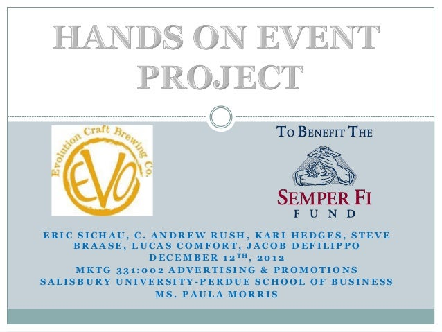 Hands on event powerpoint
