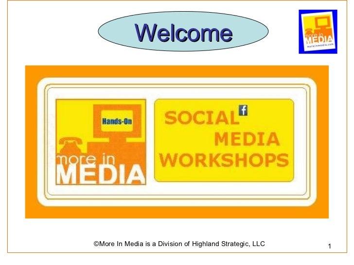 Facebook 101 Workshop
