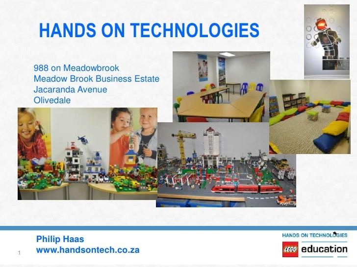 HANDS ON TECHNOLOGIES    988 on Meadowbrook    Meadow Brook Business Estate    Jacaranda Avenue    Olivedale    Philip Haa...