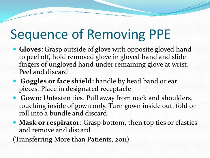 describe the correct practice in the application and removal of ppe Enrol today on our level 3 diploma in adult care course level 3 diploma in adult care rqf use of ppe correct practice in the application and removal of ppe.