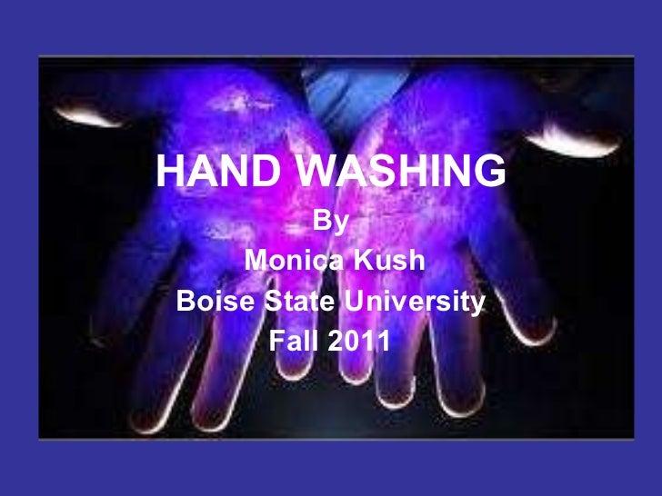 Handwashing presentation loop