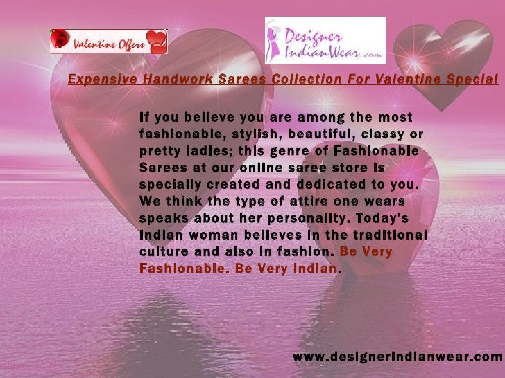 www.designerindianwear.com If you believe you are among the most fashionable, stylish, beautiful, classy or pretty ladies;...