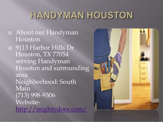 Handyman houston