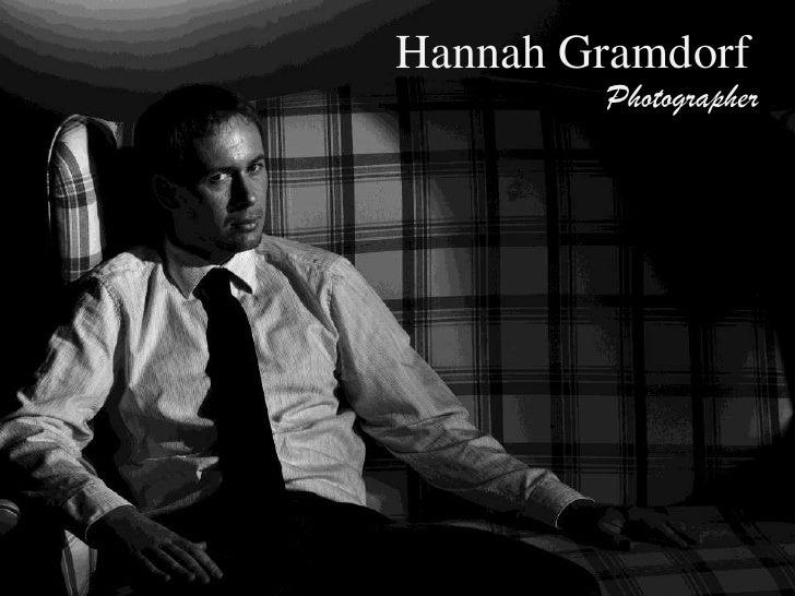 Hannah Gramdorf<br />Photographer<br />